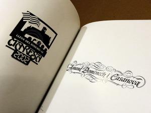 1990 Logotip propi. Amand Domènech i Casanoca