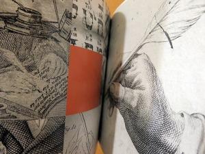 Detalles grabados plumas