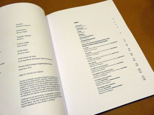 L'index del Llibre / Índice del Libro