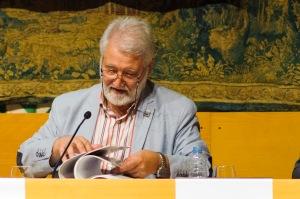 Joandomènec Ros, president de l'Institut d'Estudis Catalans