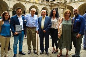 Assistents amb Enric Huguet i América Planas