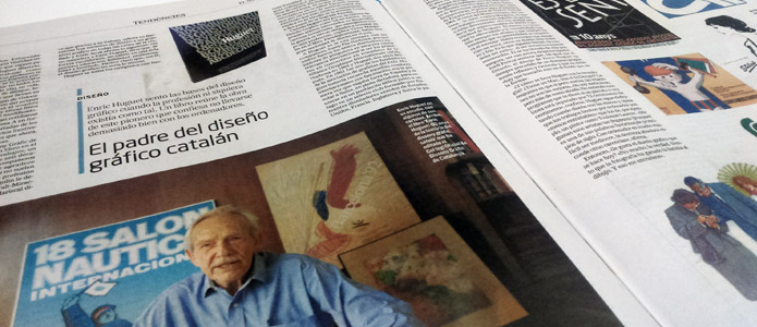 Entrevista a Enric Huguet per el Diari el mundo